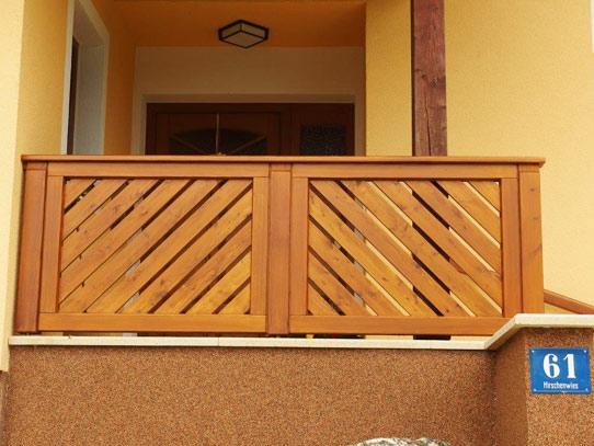 tischlerei pollak balkone z une. Black Bedroom Furniture Sets. Home Design Ideas